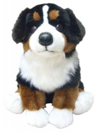 Faithful Friends FBM03 Bernese Mountain Dog with Organza Pull String Bag
